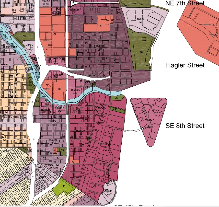 Brickell Means Business Boom Or Bust Miami - Miami beach zoning map